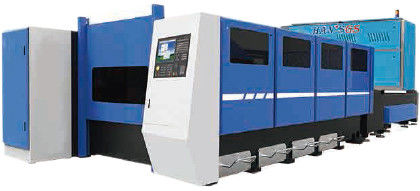 Cina Laser serat CNC Industri Laser Cutting Machine / Multi Axis Laser Cutter Distributor