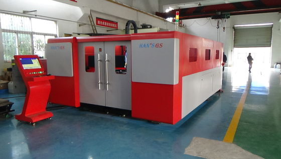 Cina Alloy Steel Sheet Metal Laser Cutting Machine Tracking System otomatis penuh Distributor