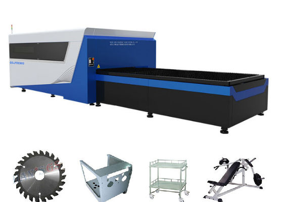 Cina Nyaman Fiber Optic Sheet Metal Laser Cutting pendingin Mesin Air Metode Distributor